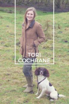 Tori Cochrane IMDT acer gundog training